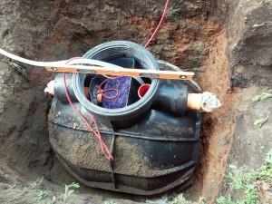 Биосток 2 с биофильтром,установка по уровню