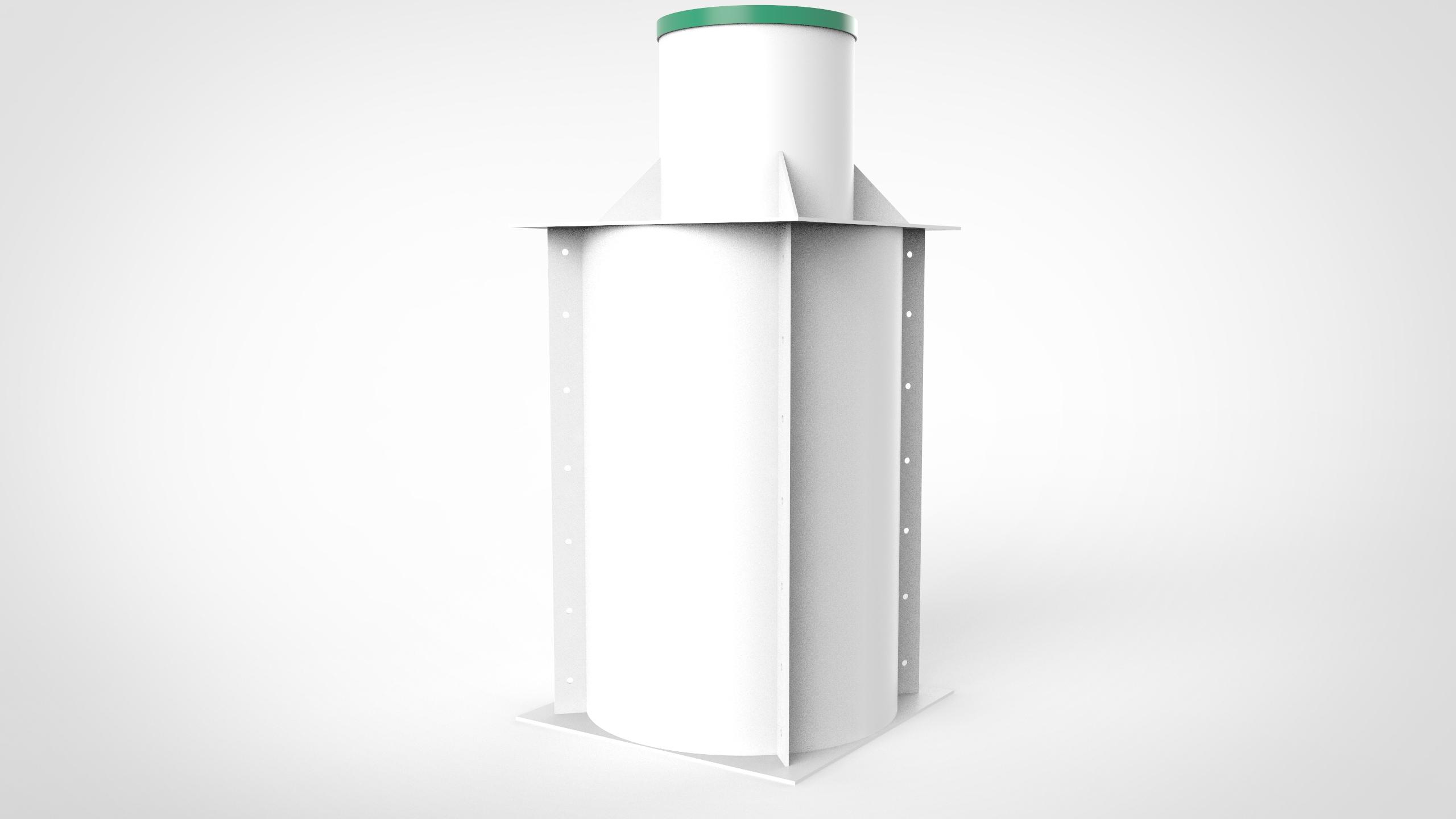 Пластиковый Кессон 1200
