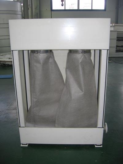 Система механического обезвоживания осадка мешочного типа