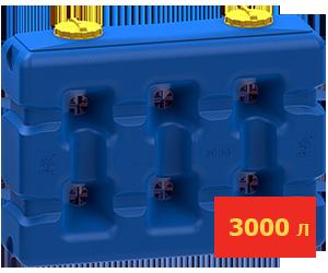 Ёмкость прямоугольная 3000 литров